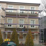Balkoninstandsetzung -mit Feinsteinzeug ohne Moertel